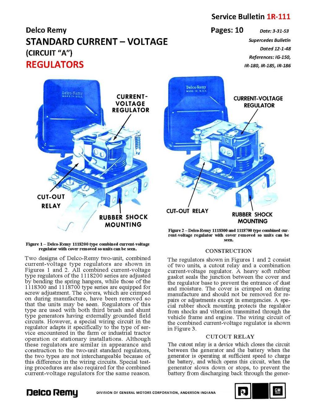 Delco Remy Voltage Regulator Wiring Diagram from www.hydra-glide.net