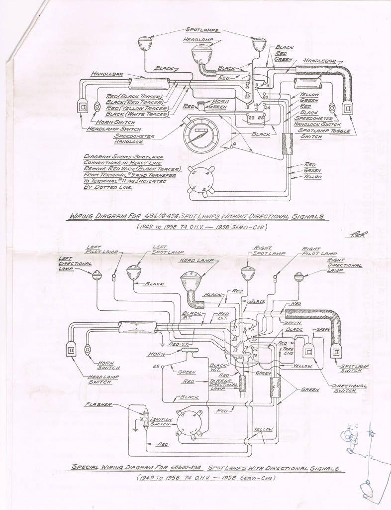 "1949 - 1958 74""OHV -- 1958 Servi-Car Wiring Diagram for ..."